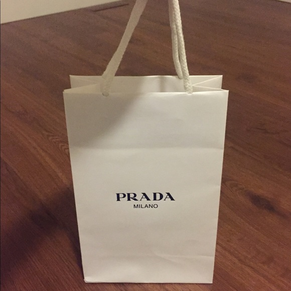 Prada Handbags - Authentic Prada small paper shopping bag